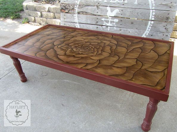 Outstanding Ugly 60S Ish Coffee Table Makeover Hayloft Inspiration Caraccident5 Cool Chair Designs And Ideas Caraccident5Info