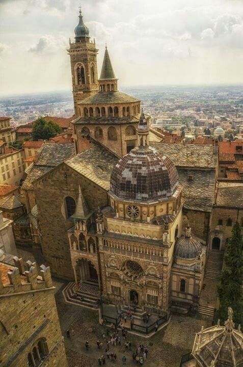 Catedral de Bergamo, Italia