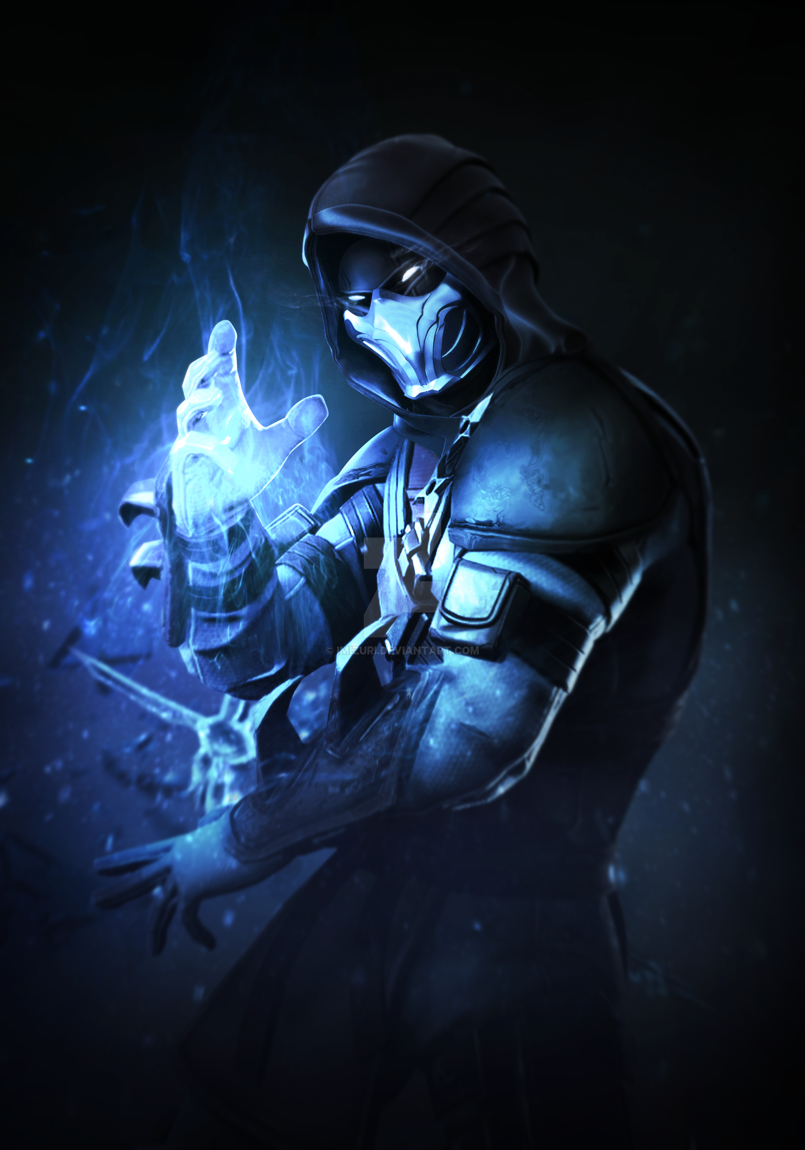 Mortal Kombat X Fortnite Subzero By Mizuriofficial On Deviantart Mortal Kombat Art Sub Zero Mortal Kombat Raiden Mortal Kombat