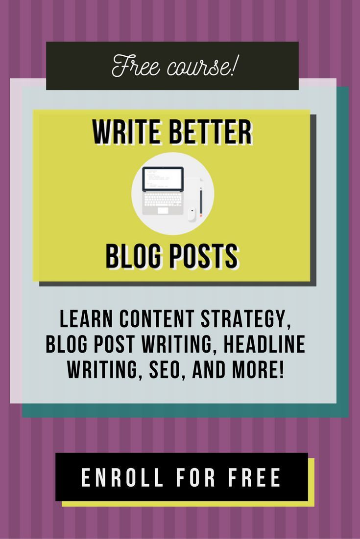 Free Course Want To Learn Seo Optimization Blog Post Writing Content Marketing Strategy Headline Writing Writing Blog Posts Writing Tips Freelance Writing