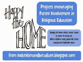 Look to Him and be Radiant: Happy the Home- Parent Communication Newsletters