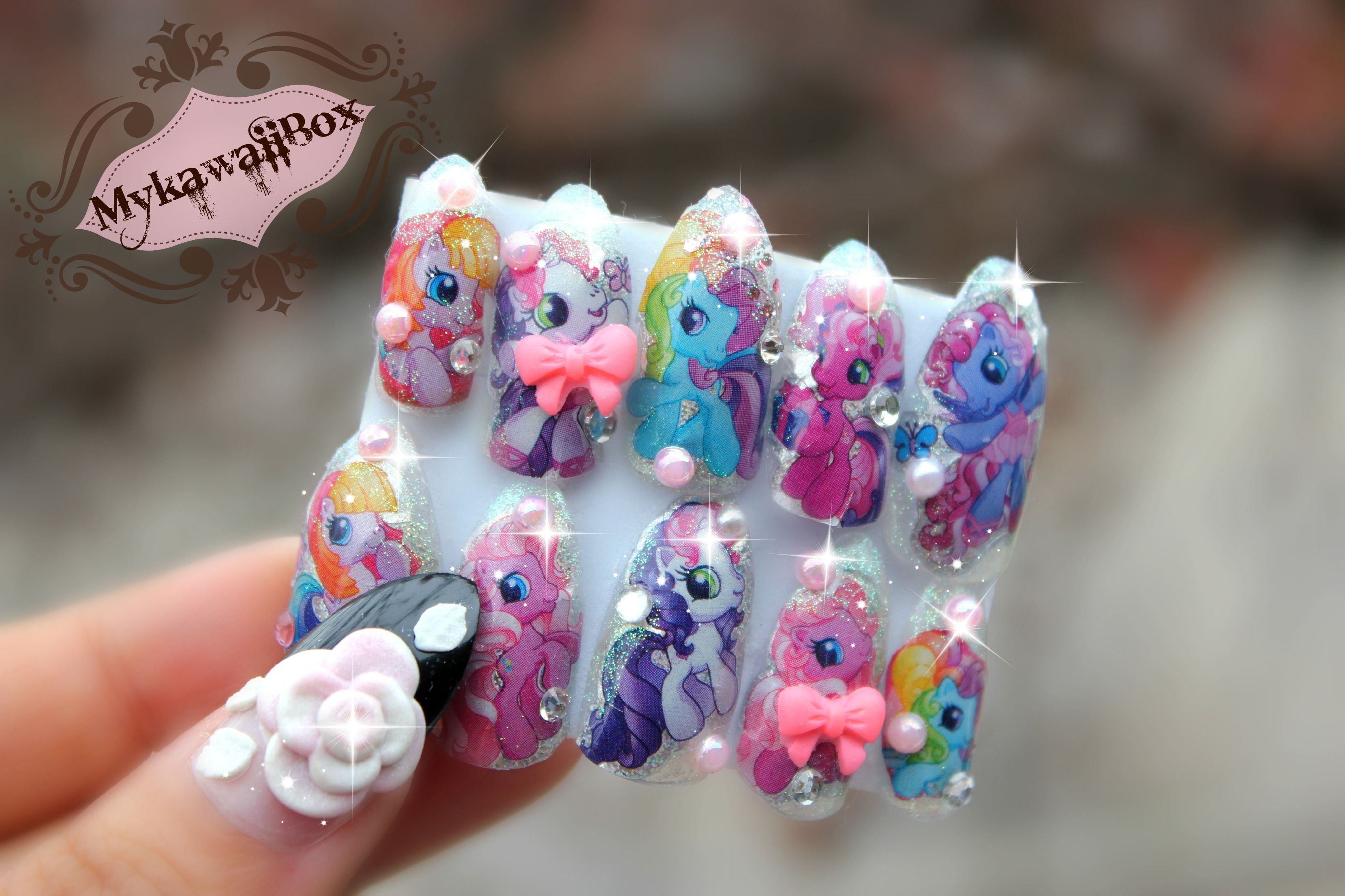 MykawaiiBox | My little Pony Nails | Online Store Powered by ...