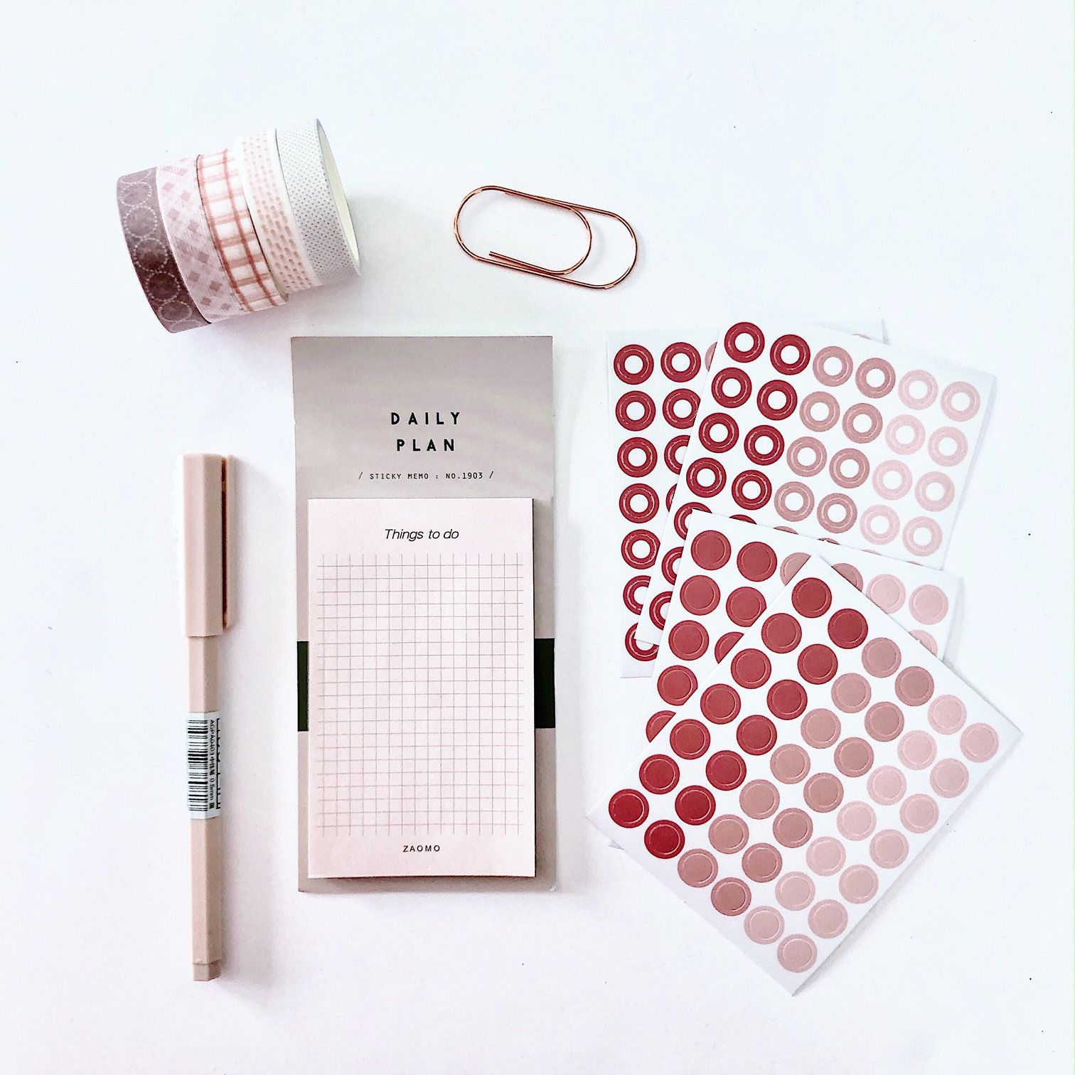Blush Mini Kit Mini Kit Sticky Notes