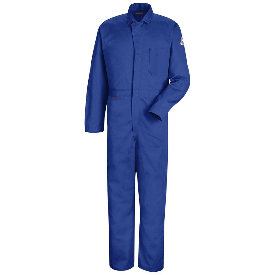 Bulwark Deluxe Flame 4 5 Oz Contractor Coverall Nomex Coveralls Red Kap Work Coveralls