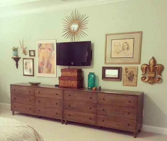 Gallery Wall Master Bedroom Furniture Layout Remodel Bedroom Bedroom Dressers