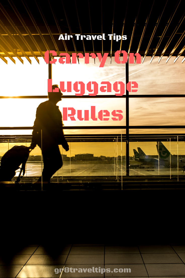 Carry On Baggage Restrictions For Air Travel Air travel