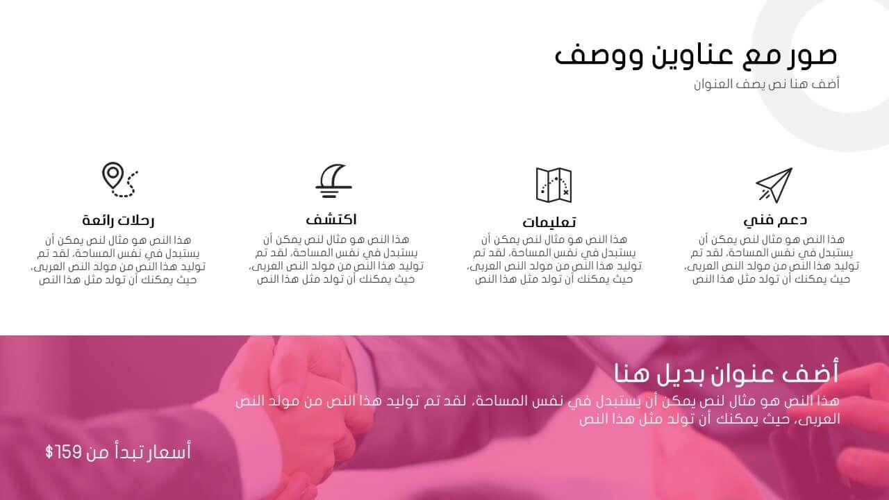عبقري عرض بوربوينت جاهز عربي لشرح الدروس واستخدامات اخرى 2019 ادركها بوربوينت Boarding Pass Chio