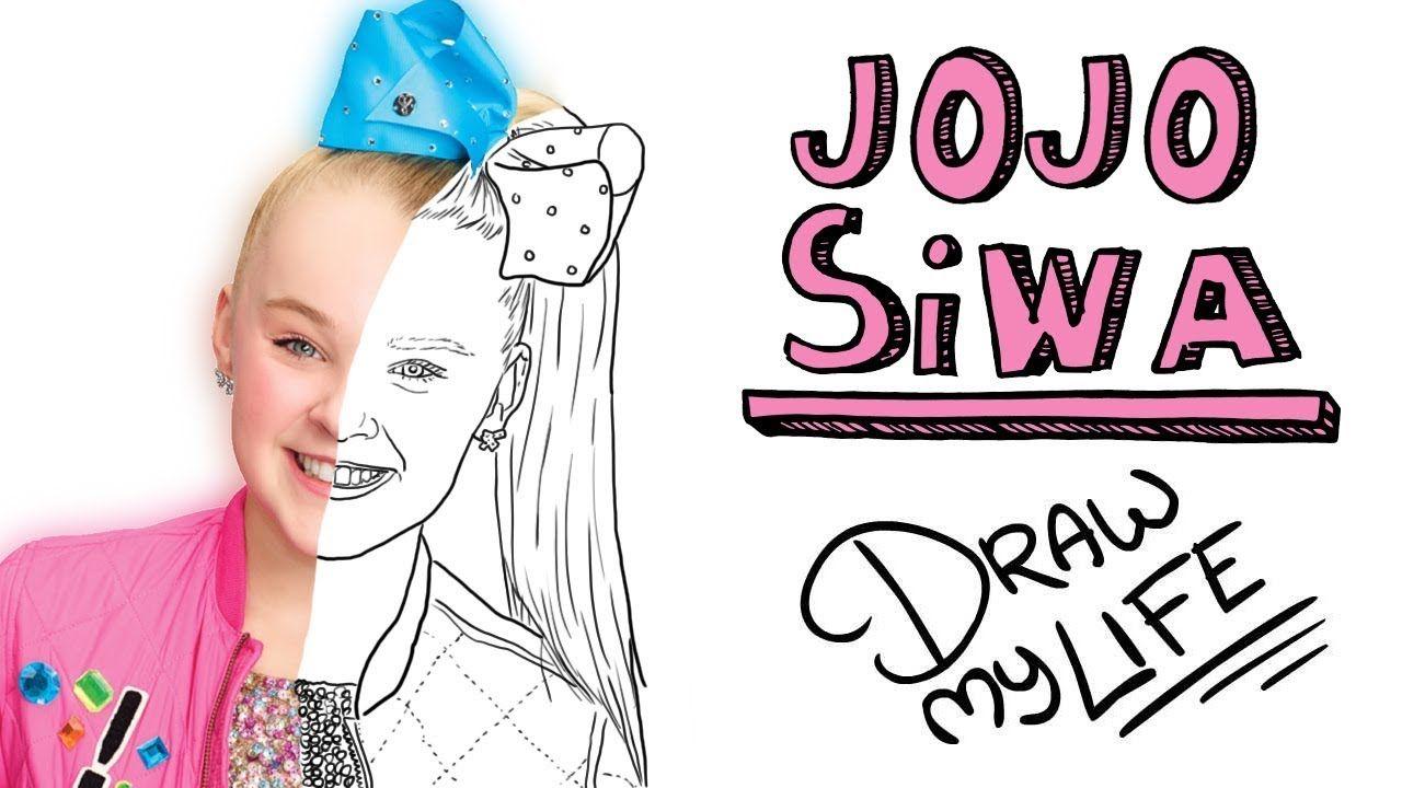 Jojo Siwa 🎀 Draw My Life Tik Tak Draw Jojo Siwa Y