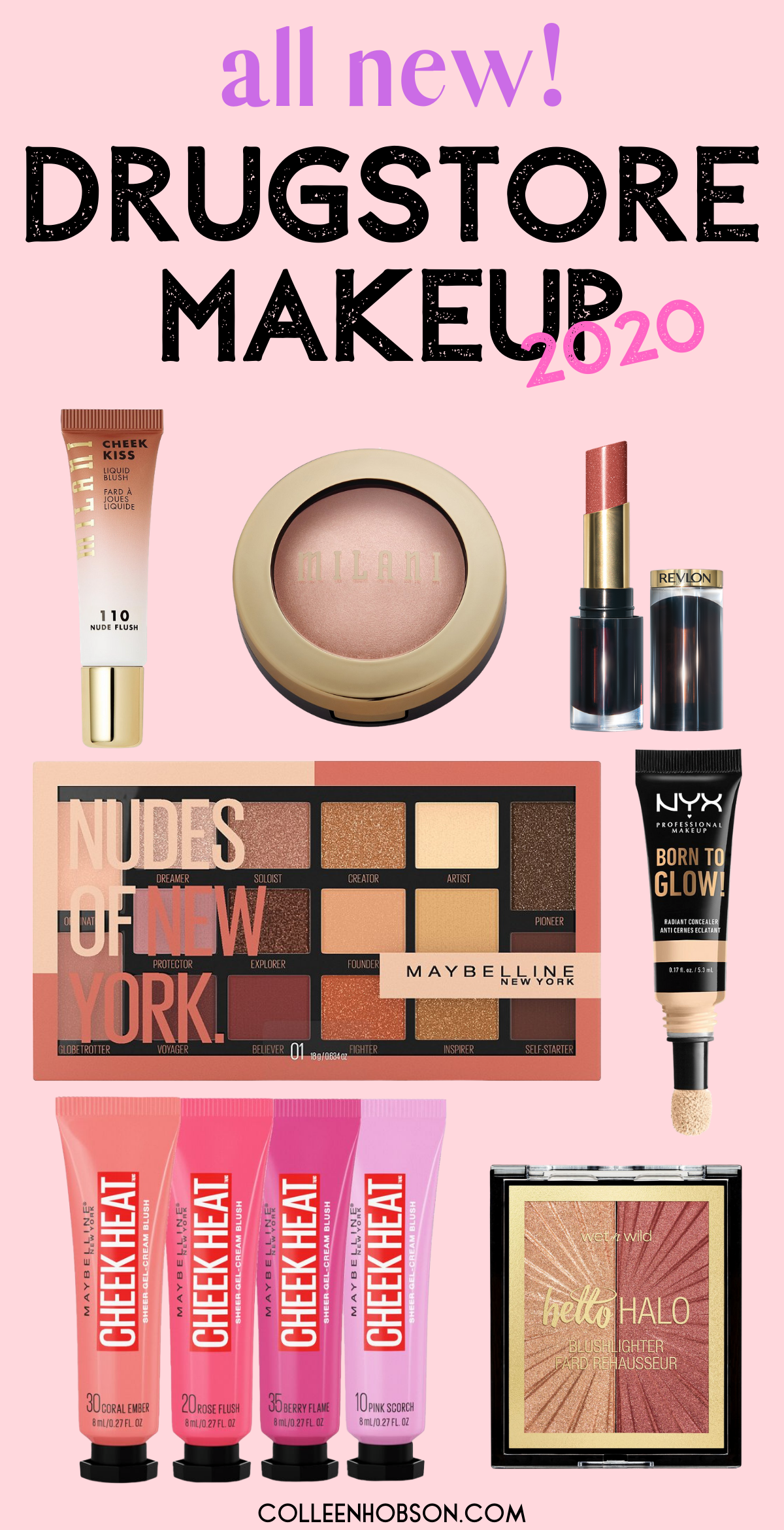 All New Spring 2020 Drugstore Makeup Start off the new year right with these brand new drugstore makeup gems