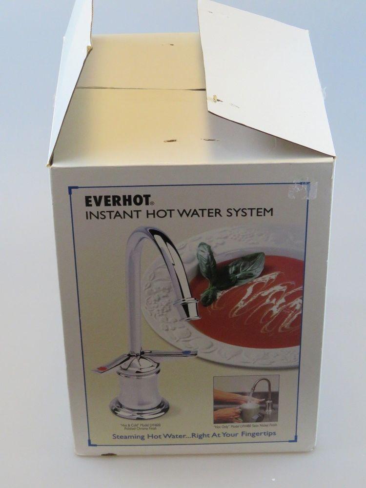 EVERHOT LVH-600 Under Sink Instant Hot Water System w/ Tuscan Brass ...
