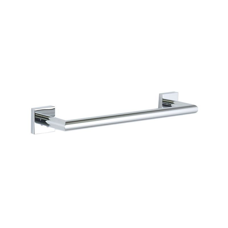 Bissonnet 754910 Quaruna 12 Towel Bar Chrome Accessory Towel Bar 12 Inch Towel Bar Contemporary Towel Bars Chrome