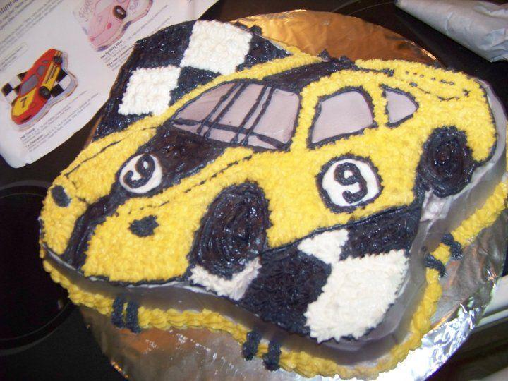 Speed Racer Cake Pan