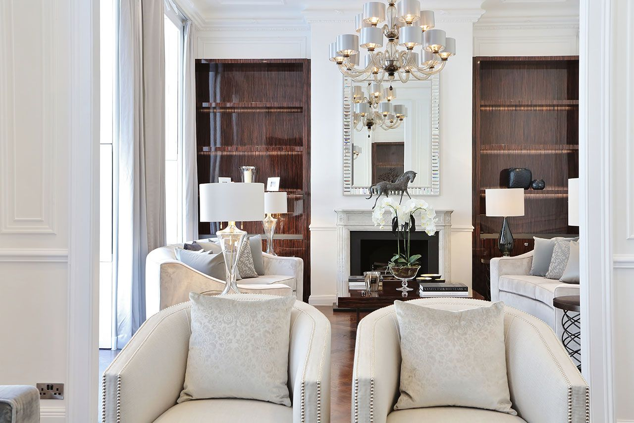 Luxury living room | Luxury Interior Design London | Bespoke ...