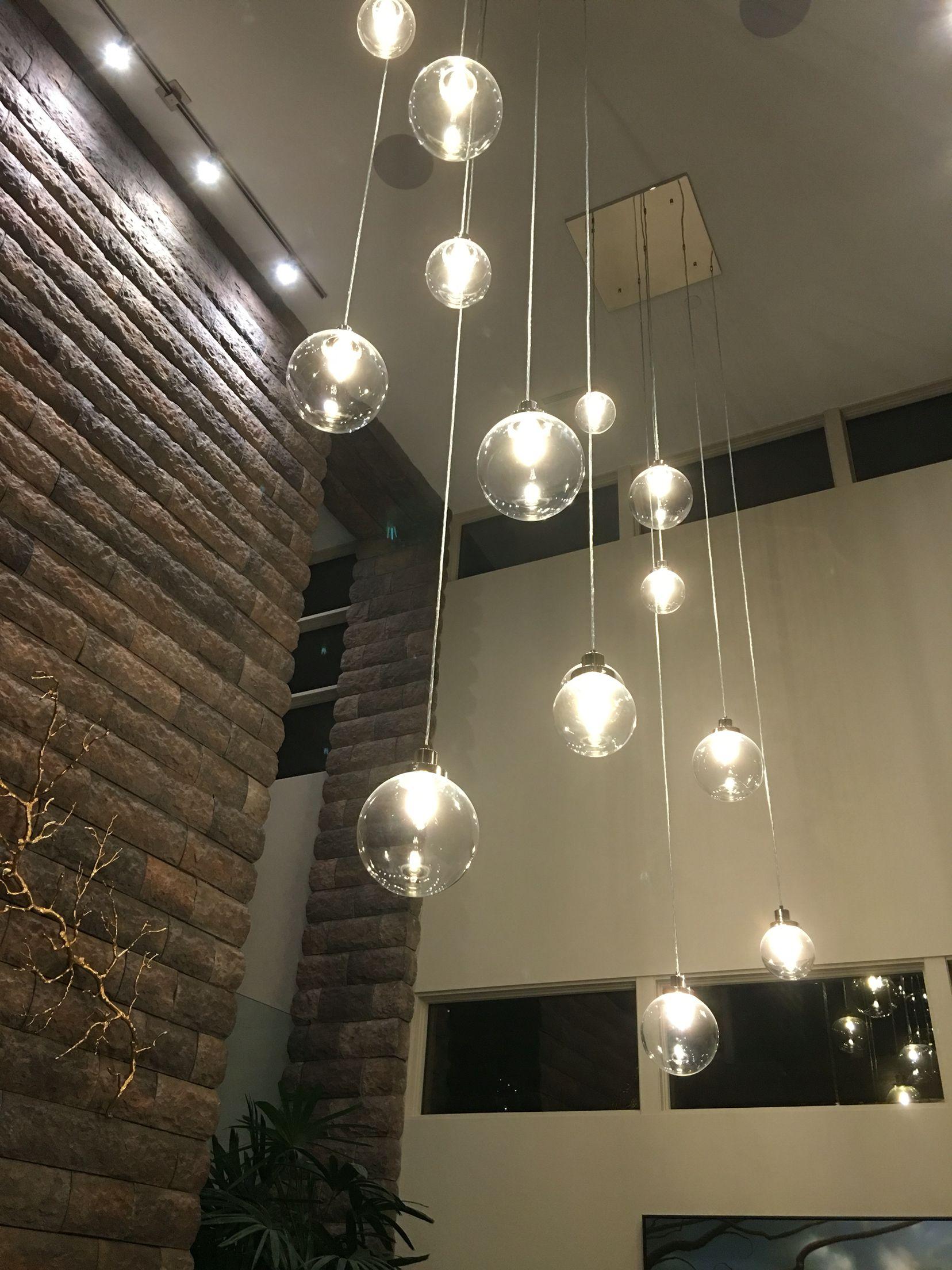Stone wall and perfect lighting fixture kbis2016 tnah2016 blogtourkbis
