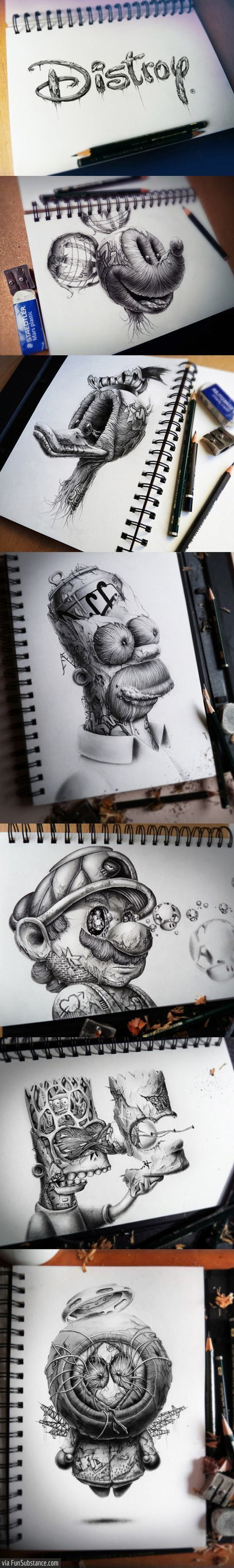 I love this!! I have GOT to start drawing again... :/
