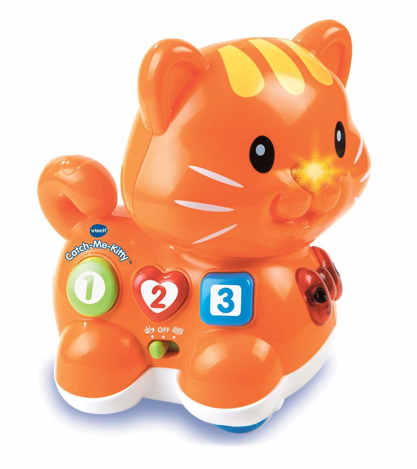 Toys and me images  Cheap VTech Catch Me Kitty Cute kitten rolls for chasing play Sensor