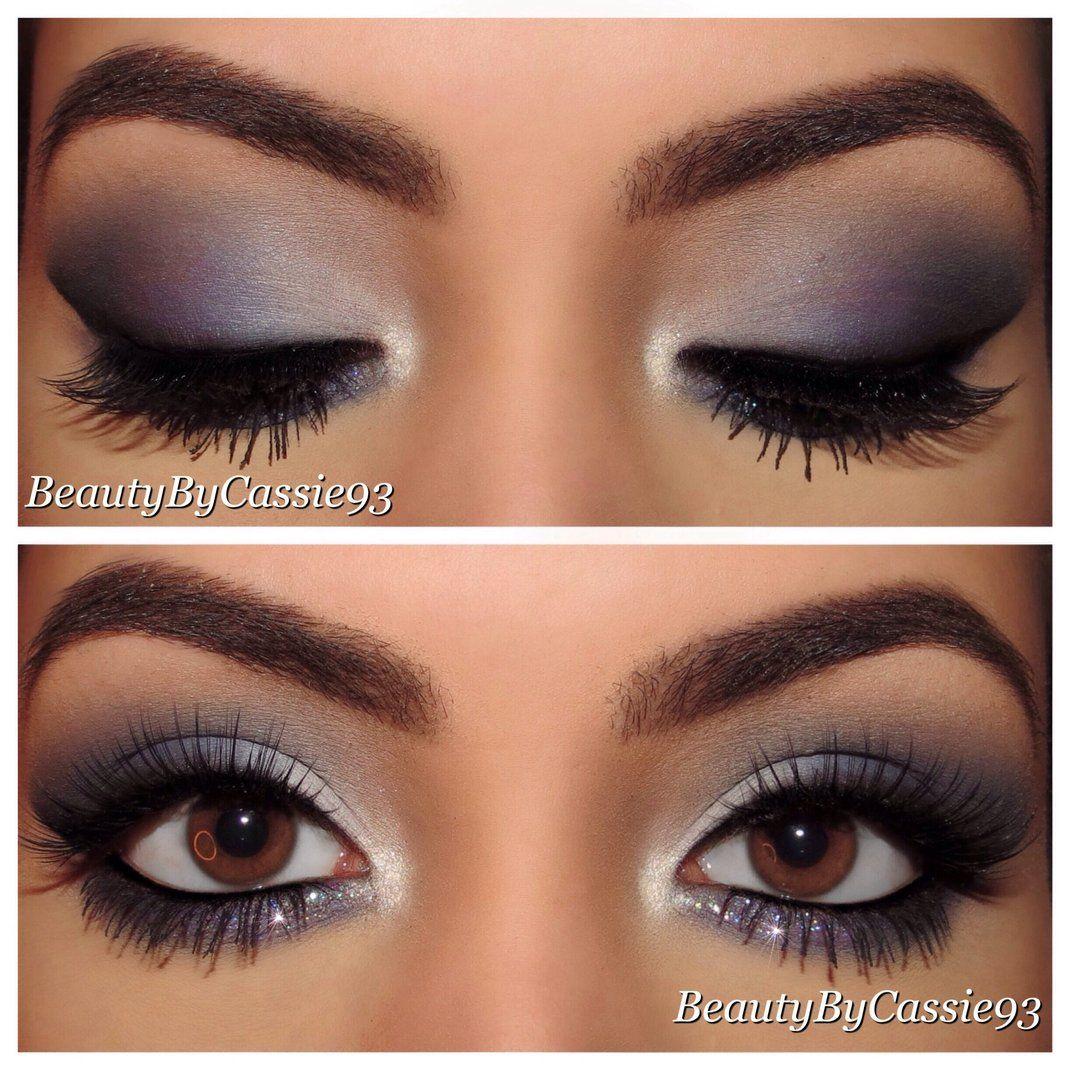 Navy Blue Smokey Look  Sephora Beauty Board  Prom eye makeup