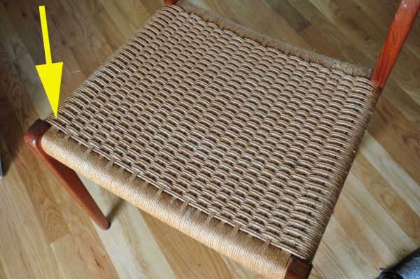 Tutorial For Re Weaving Danish Paper Cord Chairs Make