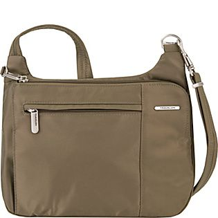 46df320ea614 Travelon Anti-Theft Welted Asymmetric East West Crossbody - Exclusive -  eBags.com