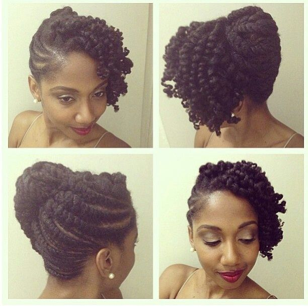 Style Natural Black Hair Wedding Hairstyles For