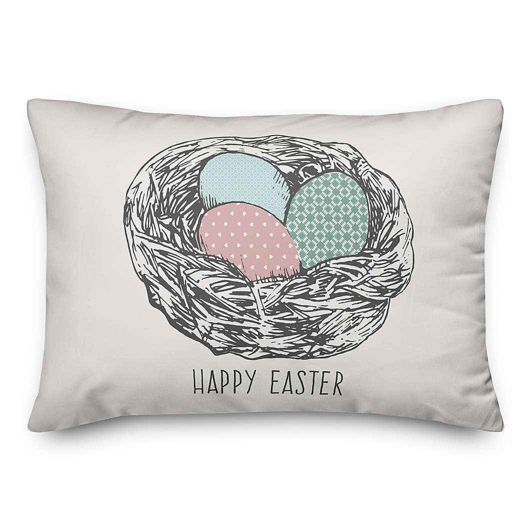 Easter Bed Bath Beyond In 2020 With Images Oblong Throw