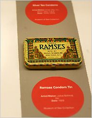 Exhibition Review - 'Rubbers - The Life, History and Struggle of the Condom' - The Condom Unrolled at the Museum of Sex - NYTimes.com: http://www.nytimes.com/2010/02/05/arts/design/05sex.html?pagewanted=all&_r=0