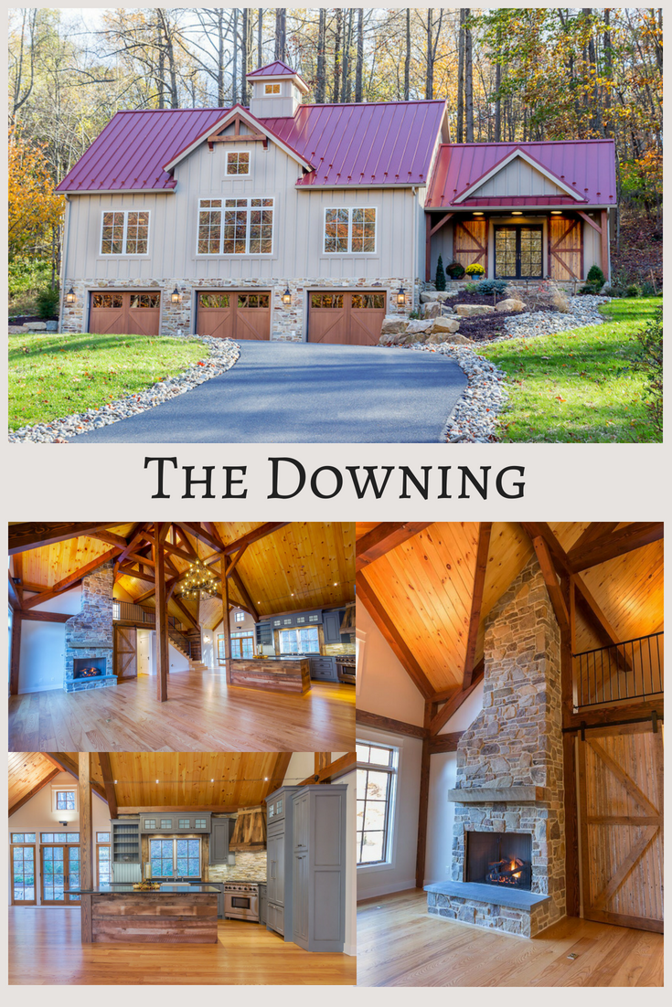 The Downing Barn House Plans Small Barn Home Metal Building Homes