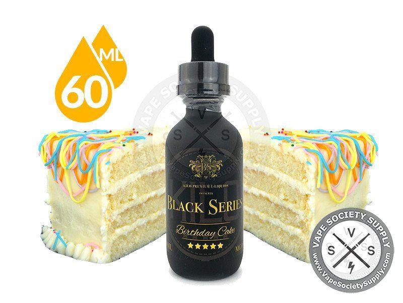 Birthday Cake - Kilo Black Series 60/100ml | Vape | Birthday cake ...