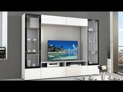 Tv Wall Unit Latest Design Ideas 2018 2019 Part 1 By Favour Beautiful Things Youtube Tv Unit Decor Tv Unit Furniture Wall Tv Unit Design