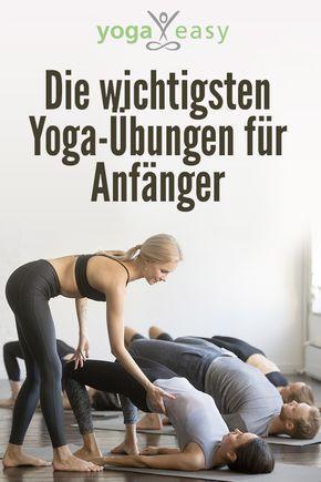 die wichtigsten yogaÜbungen für anfänger  beginner yoga