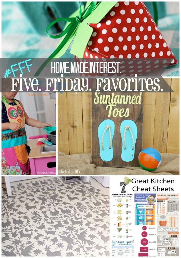 Home. Made. Interest. | Five Friday Favorites {2}