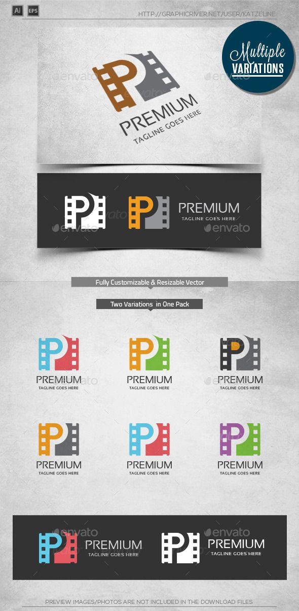 Premium Media - Logo Template | Logo templates, Logos and Template