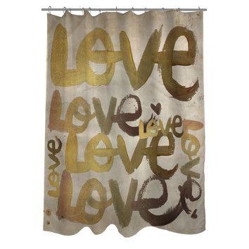 Onebellacasa Com Oliver Gal Four Letter Word Polyester Shower Curtain Throw Pillows Word Pillow Decorative Throw Pillows