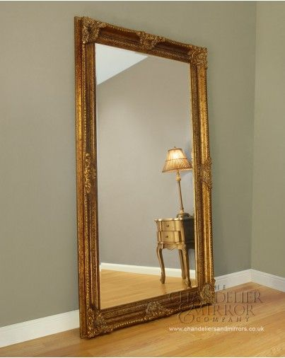 I Want A Big Standing Mirror Like This Beeches Gold Floor Mirror Leaner Mirror Mirror Frame Diy