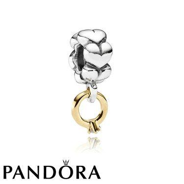 pandora charm anillo de compromiso