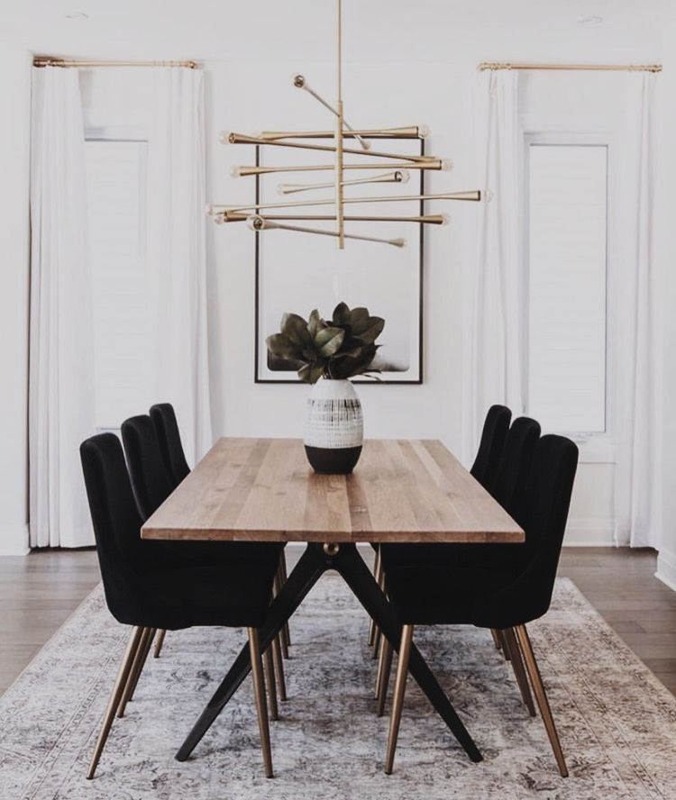 Weekend Society Dining Room Small Modern Dining Room Room Decor