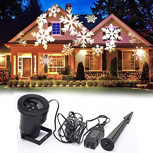 EAGWELL Christmas Decoration Rotating Projection Led Lights
