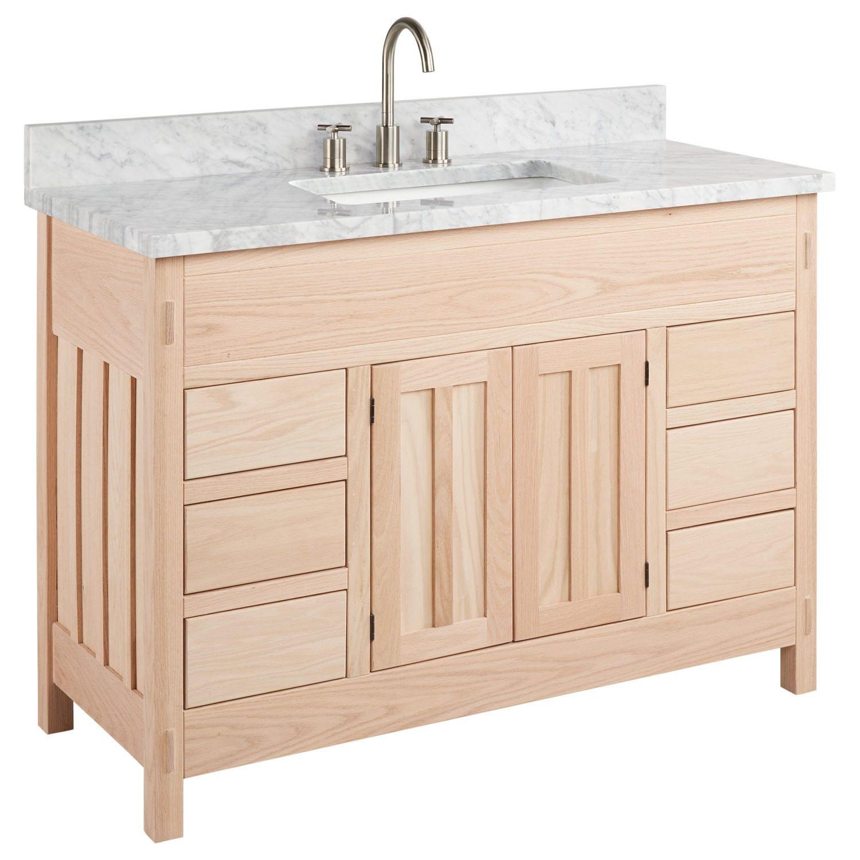 Unfinished Bathroom Vanities