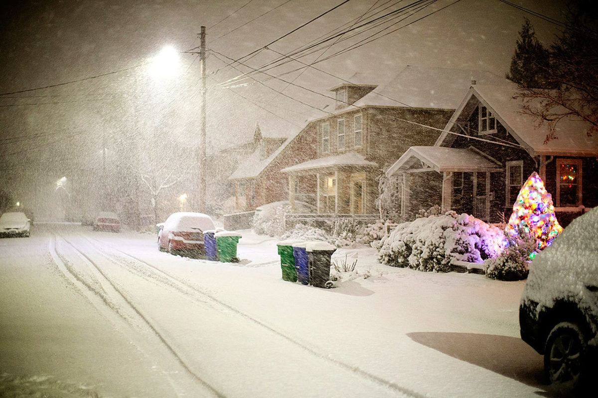 More snow for Portland and Salem, up to 5 inches expected