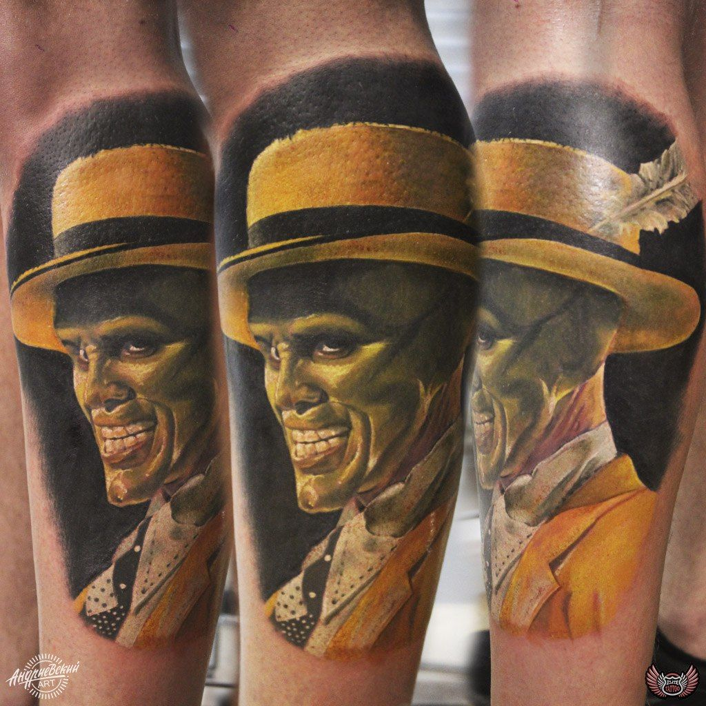 tattoo,mask,тату, Джим Керри,Jim Carrey | Tattoo Тату Татуировка ...