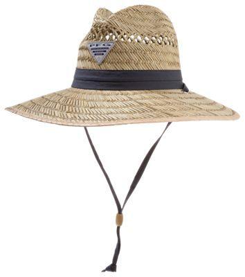 2f0e76a97fc0d4 Columbia Wrangle Mountain PFG Logo Fishing Hat for Ladies - Straw/Nightshade  PFG - L | Products | Mens straw hats, Hats, Fishing hats for men