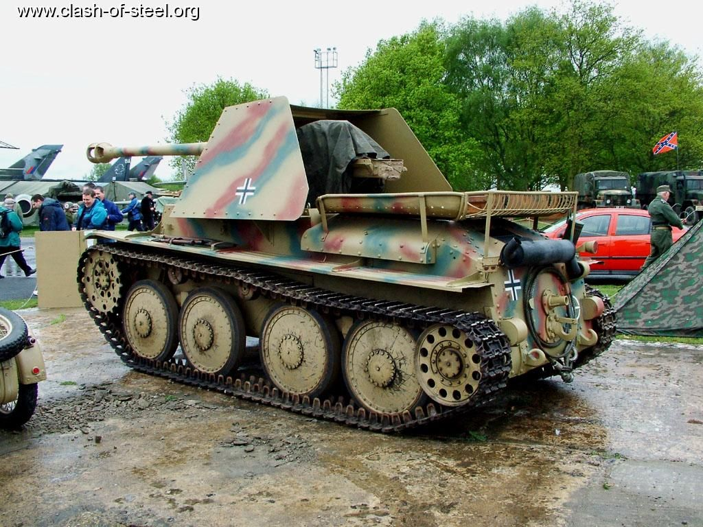 Marder III tank destroyer. - Archive - World of Tanks official forum