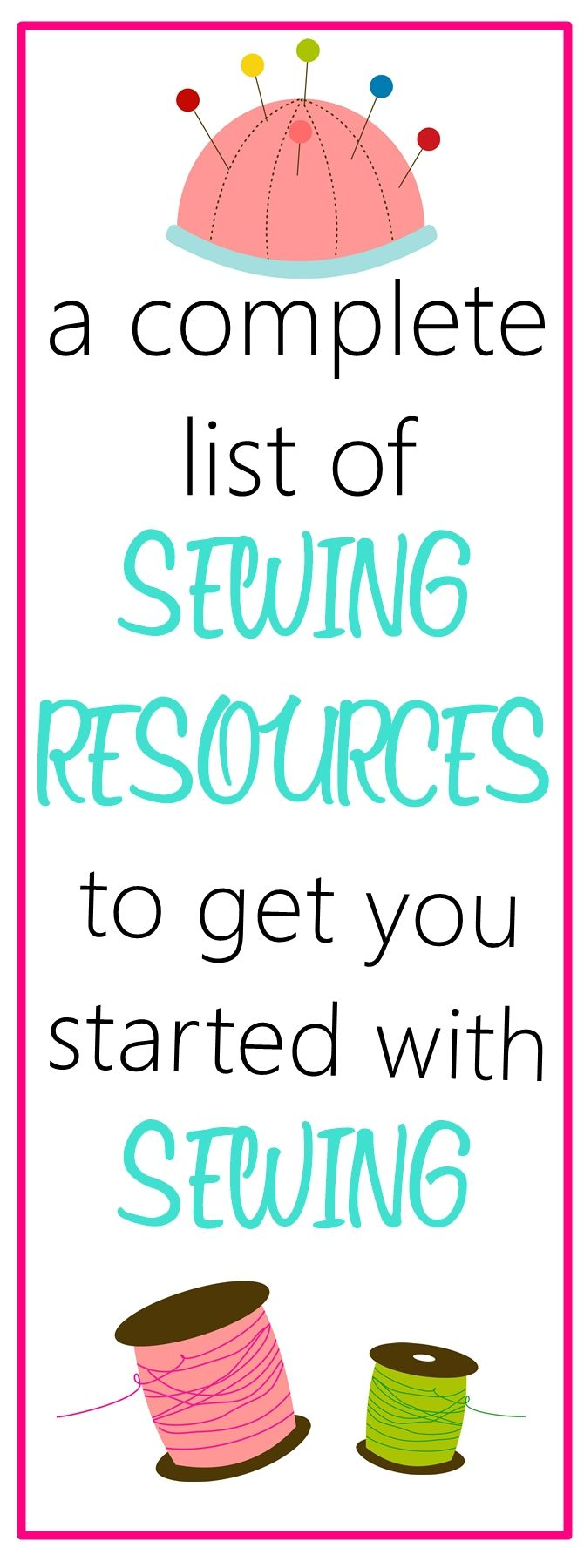 Sewing Resources - Sew Some Stuff