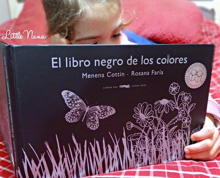 Hoy leemos... El Libro Negro de los Colores | Little Nana Life Blog ...