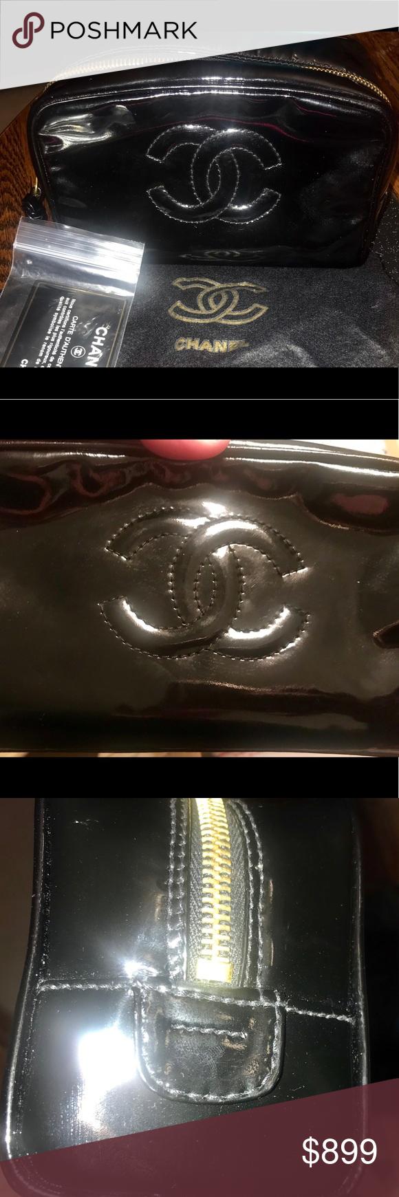 Chanel Vanity Makeup Bag BRAND NEW w/cover&card Makeup