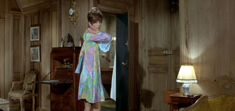 Audrey Hepburn + Two for the Road Pucci type dress.