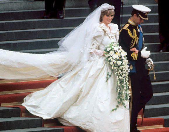 vestido de novia de diana de gales   bodas   pinterest   princess