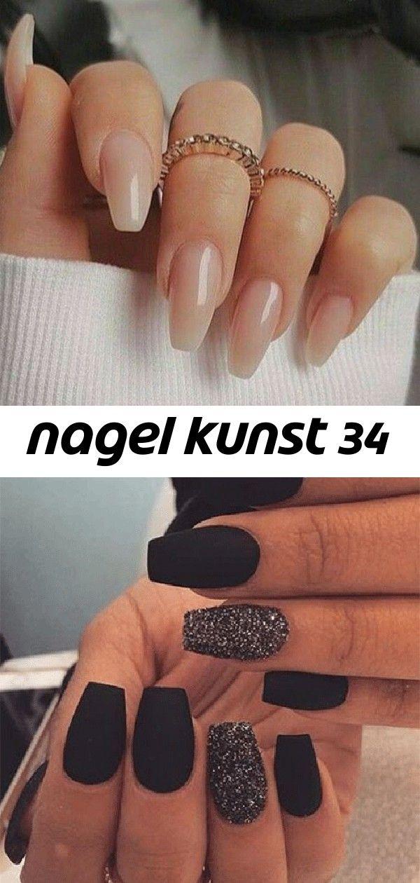 Nagel kunst 34 Nagel Kunst 10 Best Winter Black Nails Art Designs  Ideas 2018 50 einfache und elegante Nagel Ideen zum Ausdruck Ihrer Persönlichkeit