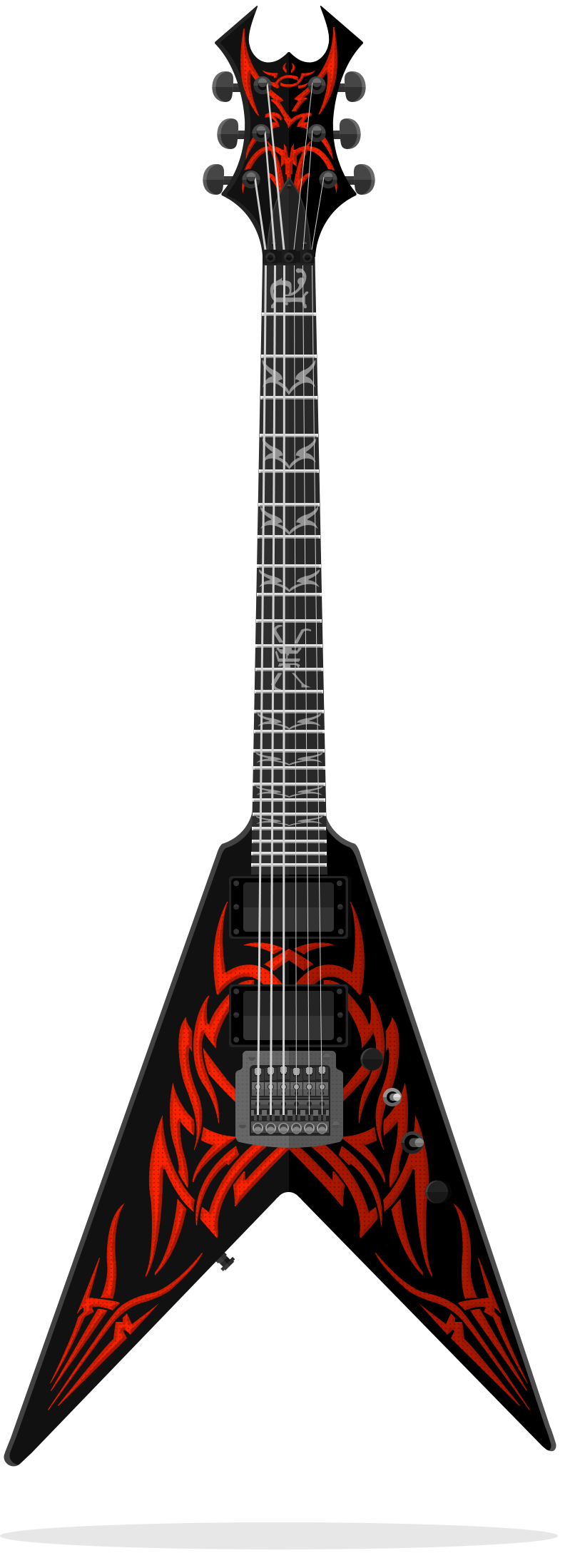 flatguitars BC Rich Kerry King V-Tribe Kerry King 25th Anniversary  Signature Kerry King has earned his reputation as one of Thrash Metal s  premier ... e11781e27e8b