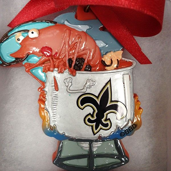 Shrimp Boil Louisiana Ornament